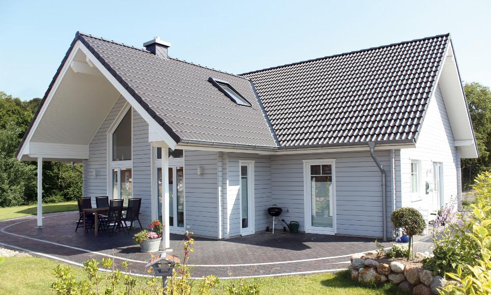 weißes Schwedenhaus Anholt