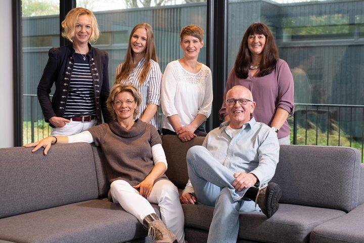 Fjorborg Holzhäuser - Team Vertriebsinnendienst 2018