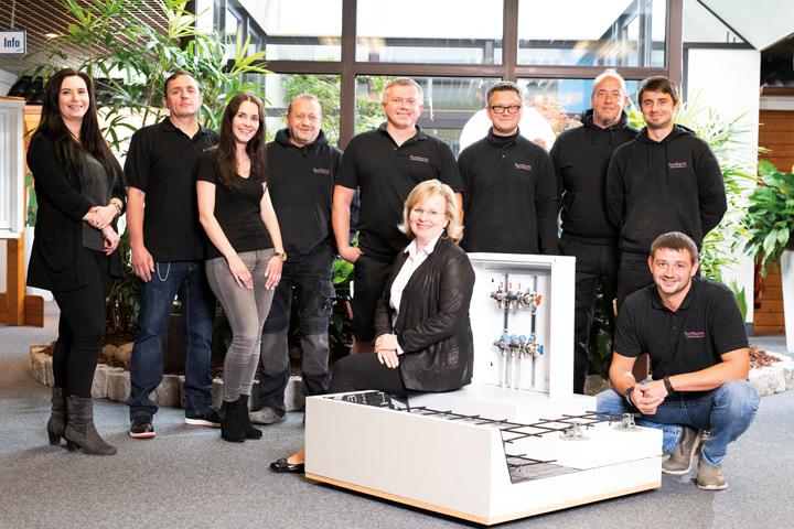 Fjorborg Gruppe Unternehmensseite Fjortherm Team