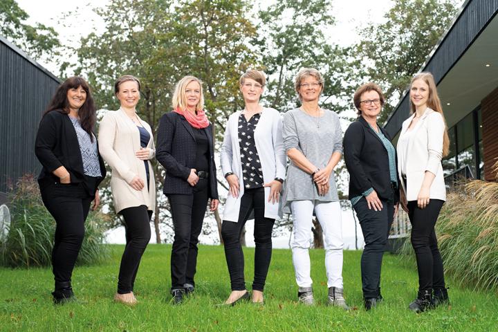 Fjorborg Gruppe Unternehmensseite Team Vertriebsinnendienst