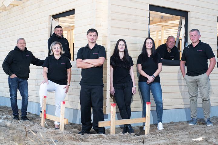 Fjorborg Gruppe Unternehmensseite Fjortherm Team 2021